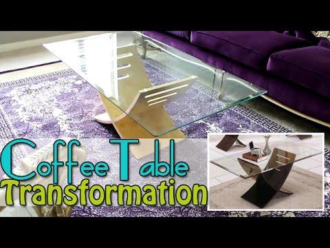Diy Watch As I Transform My Coffee Table Gold Leaf