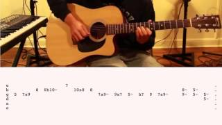 """How To Play """"Stay With Me"""" by Sam Smith on Guitar (Cover by Ely Jaffe) w/ TABS!!!"""