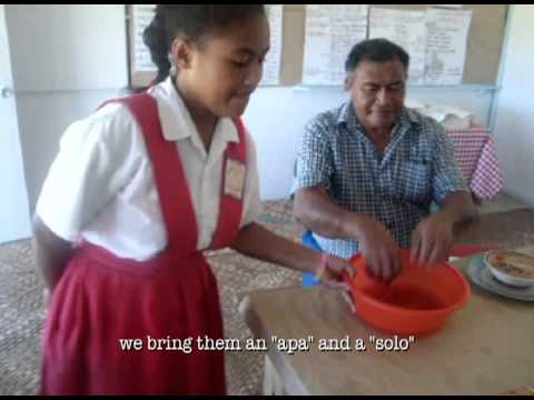 Samoa Culture Snapshots Easter Serving