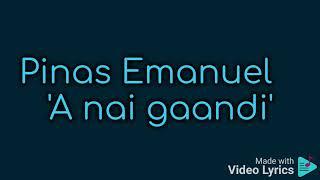 Pinas Emanuel - A Nai Gaandi (Lyrics Version)