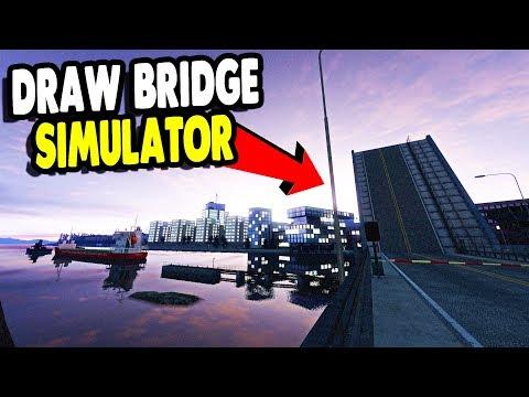 GIANT DRAW BRIDGE SIMULATOR IN MAJOR CITY CENTER | Infra Gameplay