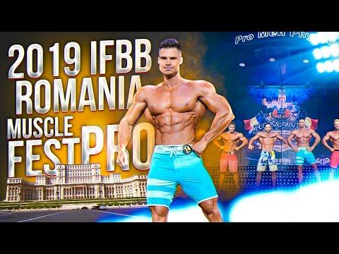 Денис Гусев на Romania Muscle Fest Pro 2019.