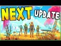 No Man's Sky | NEXT UPDATE GAMEPLAY! FREE FREIGHTER! - Multiplayer Gameplay, Visual Upgrades & More!
