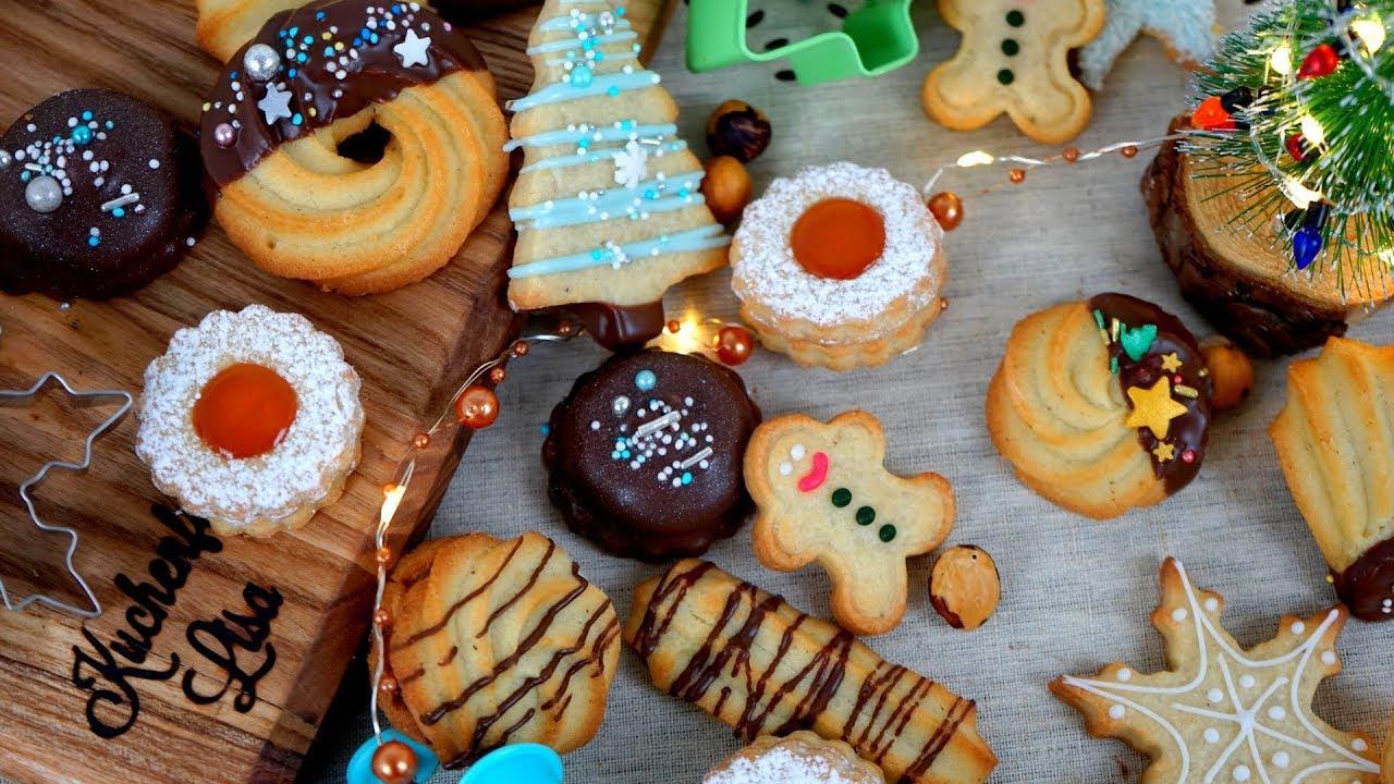 Rezepte Für Weihnachtsplätzchen Kostenlos.Weihnachtsplätzchen Basis Zu Ausstechteig Mürbeteig Rezept Für Plätzchen Kuchenfee