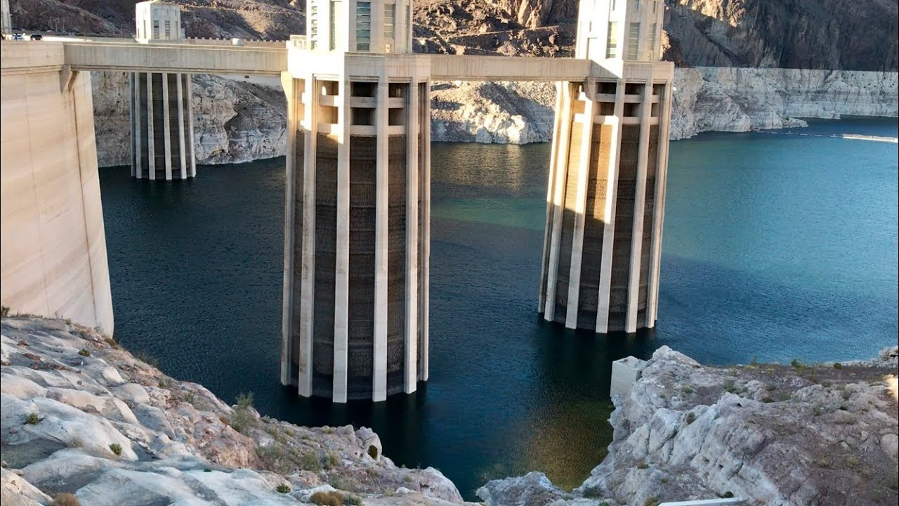 Low Water Level at Hoover Dam |Hoover Dam Water