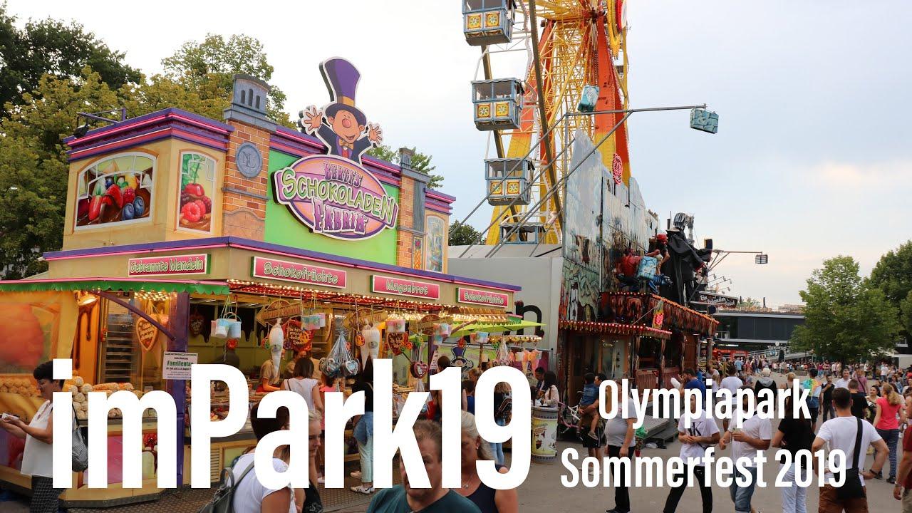 Feuerwerk olympiapark 2019