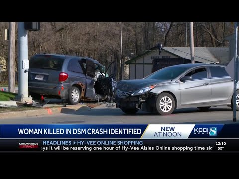 Des Moines Police ID Woman Killed, Man Injured In Three-vehicle Crash