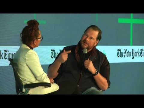 New Work Summit | Creating a Dynamic Culture | Marc Benioff in conversation with Jenna Wortham