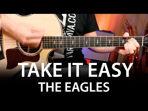 Take It Easy Chords on guitar lesson