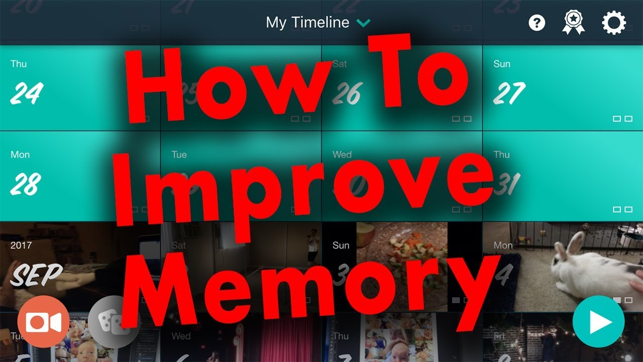 Improve Memory Recall with One Second Everyday 1SE App - IDEA #23 image