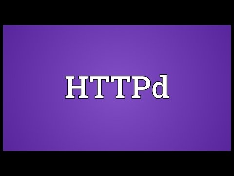HTTPd Meaning