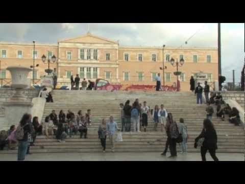 terra & freedom by BelleVille at Parliament Square of Athens (HD excerpt).mov