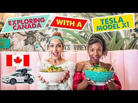 TESLA MODEL X TRIP IN CANADA! | Montreal Travel Guide