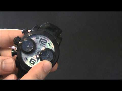 Graham Swordfish Booster Iris Watch Review