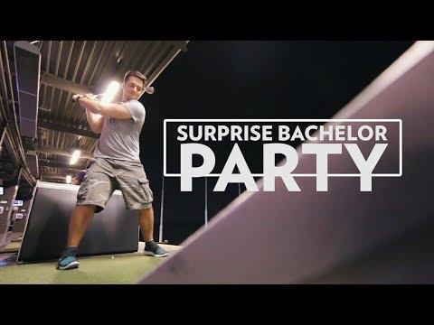 Surprise Bachelor Party at Top Golf KC