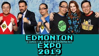 Vlog: Edmonton Comic & Entertainment Expo 2019 - FELICIA DAY! JASON DAVID FRANK!