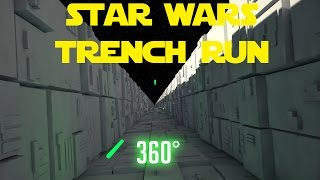 Star Wars: Virtual Reality Deathstar Trench Run 360° thumbnail