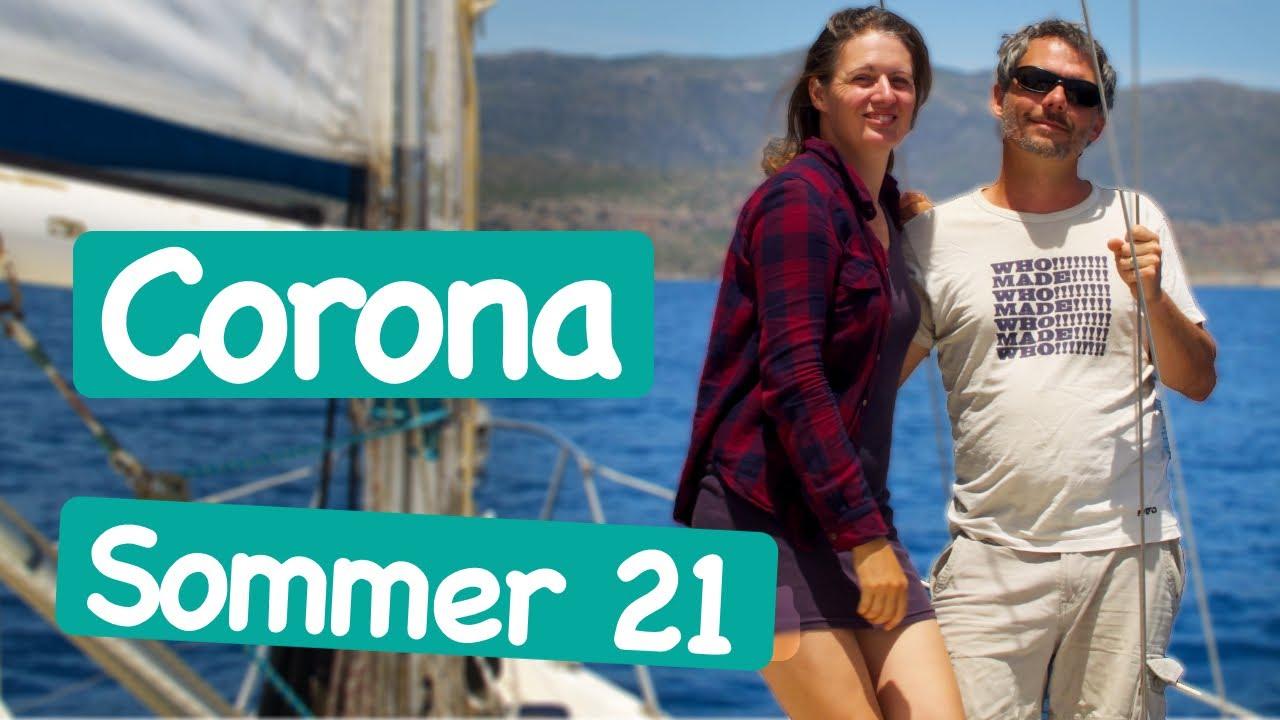 Segeln mit Corona in Griechenland 2021   Wir segeln #85