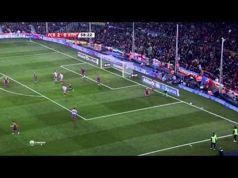 La Liga 2010-11, Barca - Atletico Madrid (Full, HD, ES)