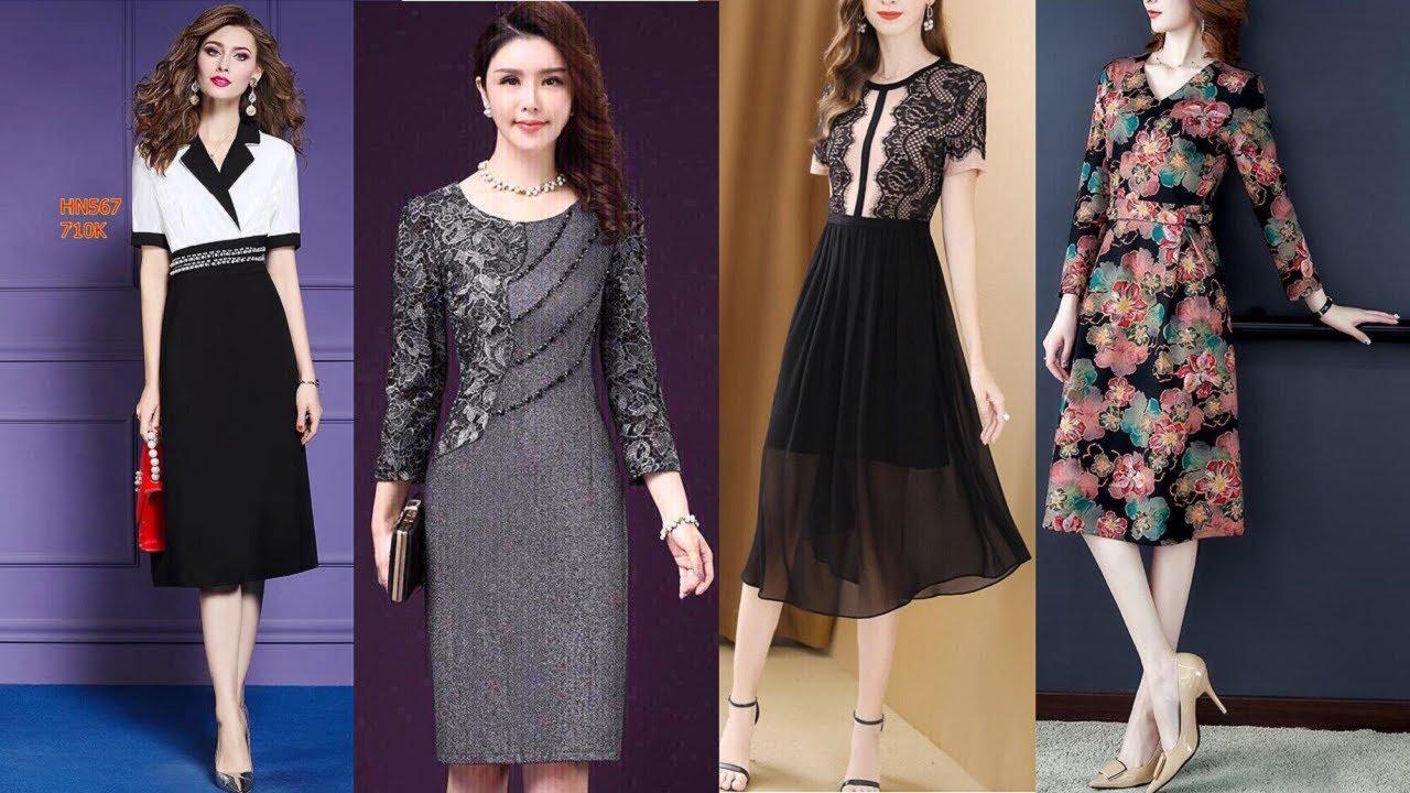 Đầm Váy dự tiệc cưới 2020 – 2019 đẹp sang trọng cao cấp tuổi trung niên tphcm, Hà Nội
