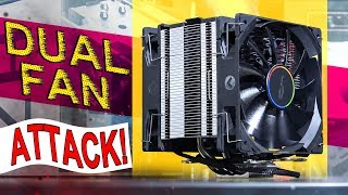 Video TWO Fans ATTACK This Cooler! -- CRYORIG H7 Plus download MP3, 3GP, MP4, WEBM, AVI, FLV Oktober 2018