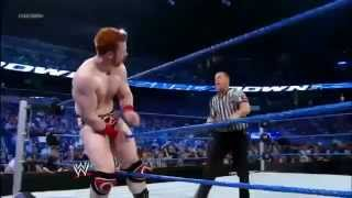 WWE - Sheamus Brogue kicks referee.