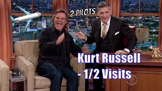 Kurt Russell - He Got Craig Into Flying Planes - 1/2 Visits