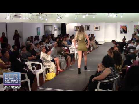 Talibah Simmons At Bermuda Fashion Collective, November 3 2016