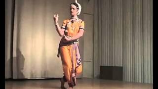 Ahe Nila Saila. Dancer Evstigneeva Anastasia