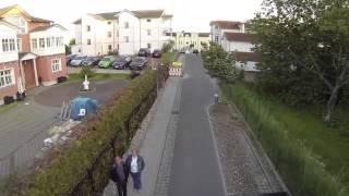 Anfahrt zum Haus Blick zur See in Göhren