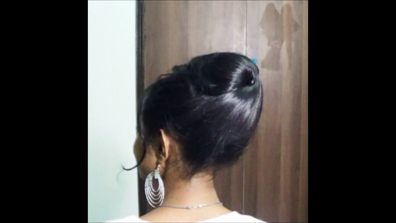 Ponytail without hair band - Back To School Updo Without Any Hair Ties Clips Pins
