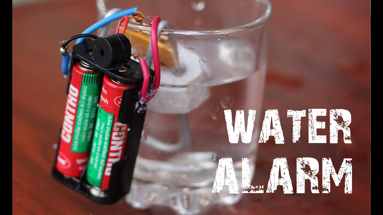 Image result for water alarm