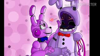 Verena The cute bunny x Withered Bonnie