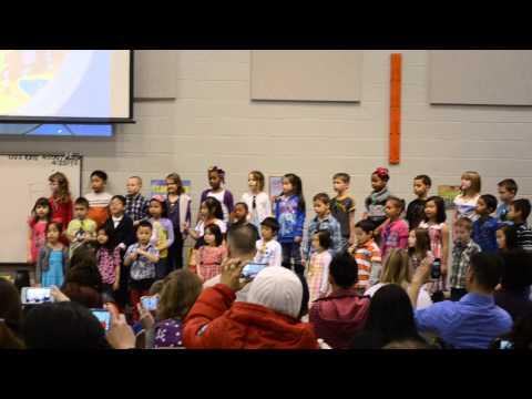 My friend in the sea - KG Music program 2012-2013 - Seltzer Elementary School