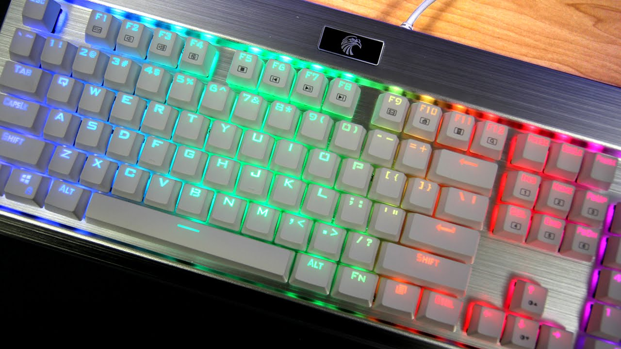 463a93e3be3 E-Element RGB Keyboard Review - Affordable RGB Mechanical Keyboard??? (w/  Sound Test) - YouTube