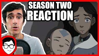 Avatar: The Last Airbender REACTION | Book 2 (Season 2) Finale