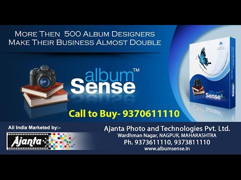 Album Sense - Wedding Album Designing Software
