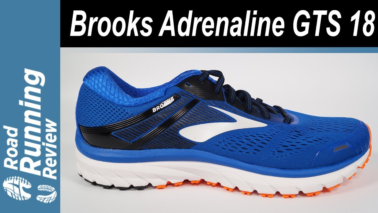 43f6c7e4928 Brooks Adrenaline GTS 18 Review - YouTube