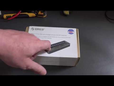 ORICO 10 Port USB 3.0 HUB Review - Plus Bitcoin Mining Test