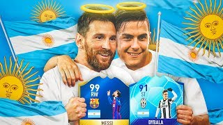 LA MEJOR PLANTILLA DE ARGENTINA !!! ARGENTIDIOSES MESSI TOTS & DYBALA !!!