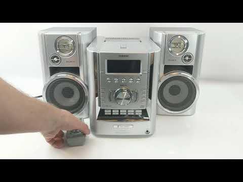 Sony CMT-HP7 Micro HiFi Stereo System @PineHog