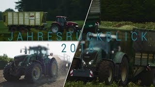 Jahresrückblick 2018 /  Lohnunternehmen Blunk, Steinkamp, Hans Thun, Honermeie, usw.