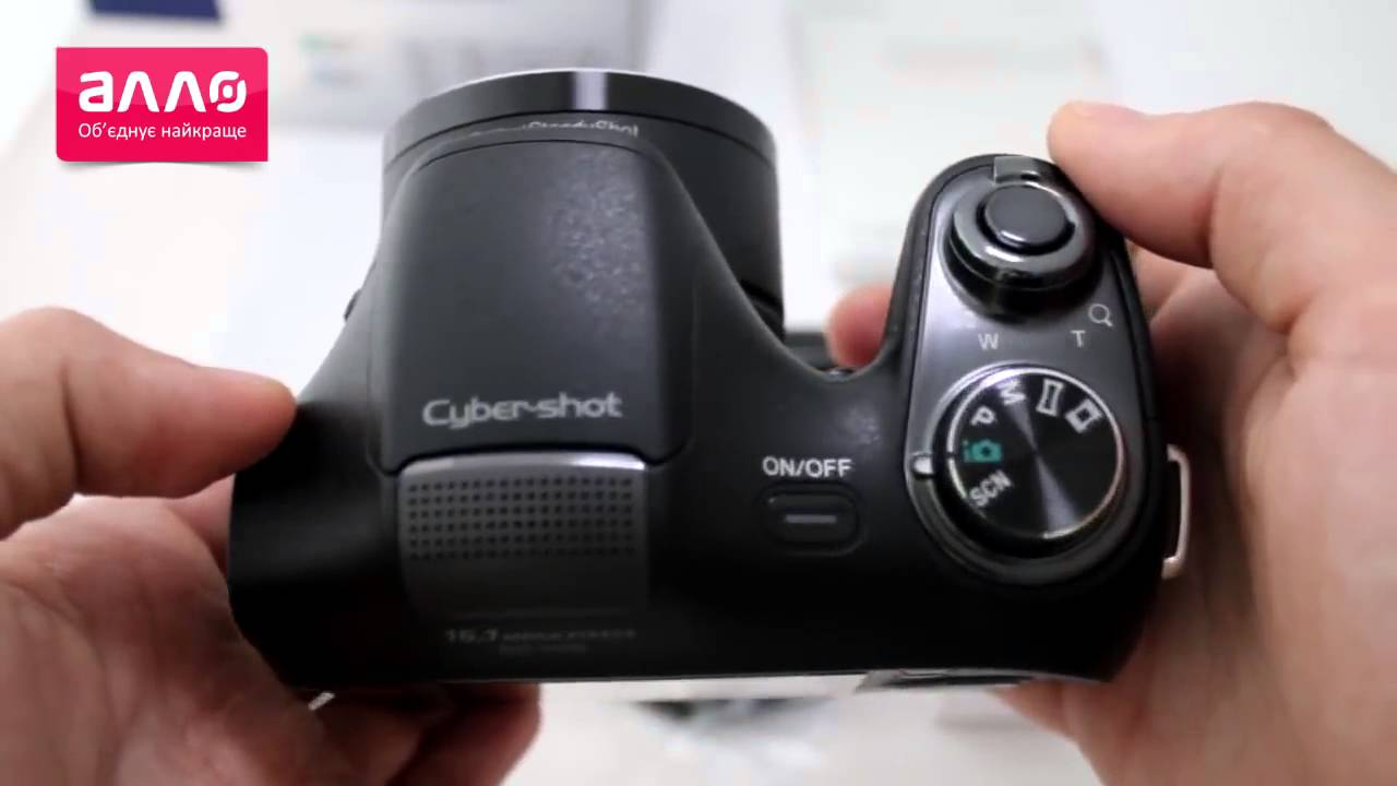 Unboxing Sony Cyber-shot DSC-H100 - YouTube