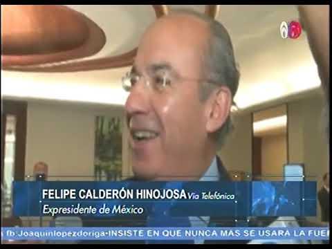 Calderón reta a López Obrador a debatir sobre patrimonio y energías