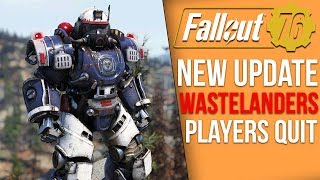 Fallout 76 News - 2.5GB Update, Wastelanders Details, Players Quit, Future Leaks