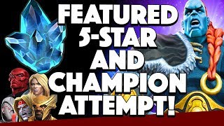Featured 5 Star Crystal Opening and Attempt at The Champion!