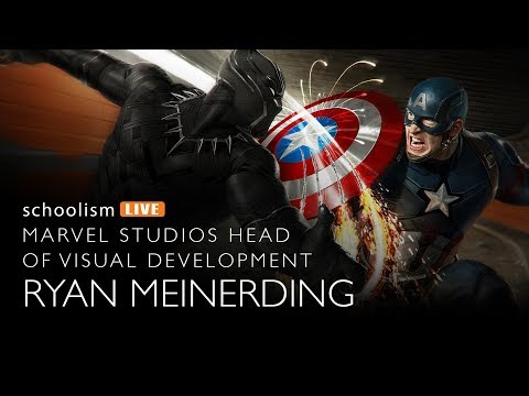 Marvel Studios Head of Visual Development: Ryan Meinerding