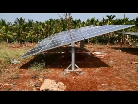Low Cost Manual Mechanical Solar Tracker for Irrigation Systems