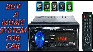 Sound Boss SB-2222BT Car||| Car music system|| Unboxing & Review