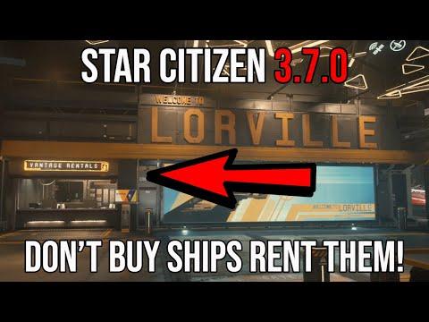 STAR CITIZEN ALPHA 3.7 DON'T BUY SHIPS RENT THEM!